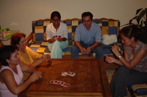 After School Playing UNO